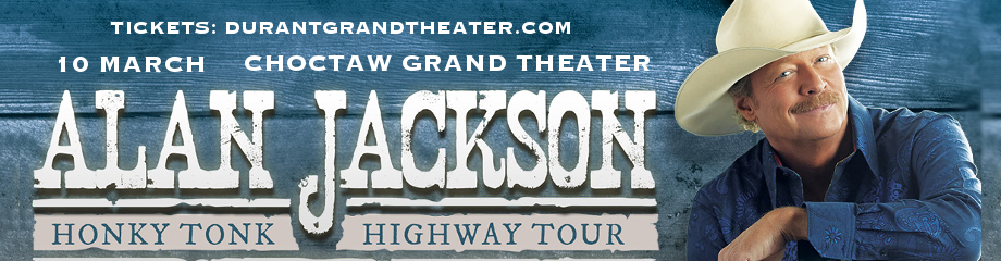 Alan Jackson at Choctaw Grand Theater
