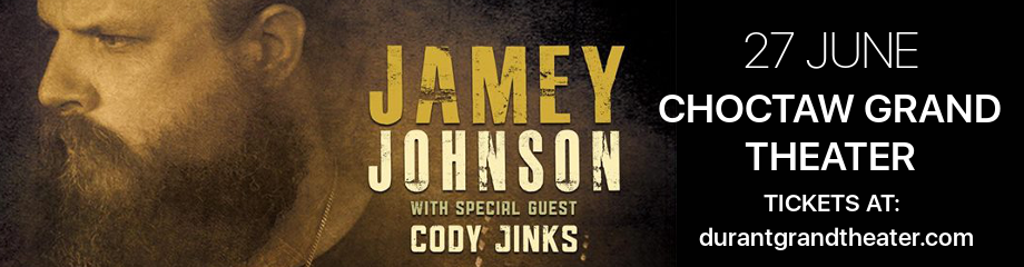 Jamey Johnson & Cody Jinks at Choctaw Grand Theater