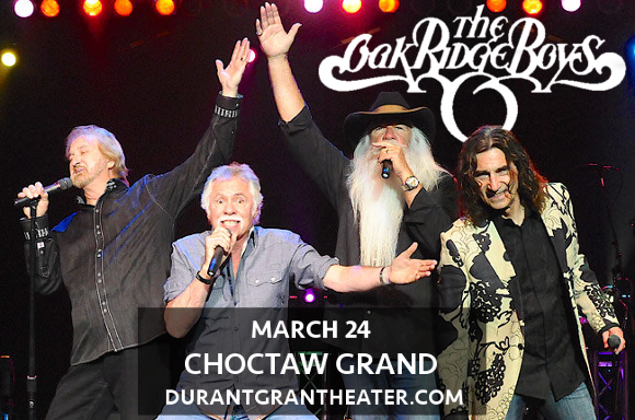 The Oak Ridge Boys at Choctaw Grand Theater