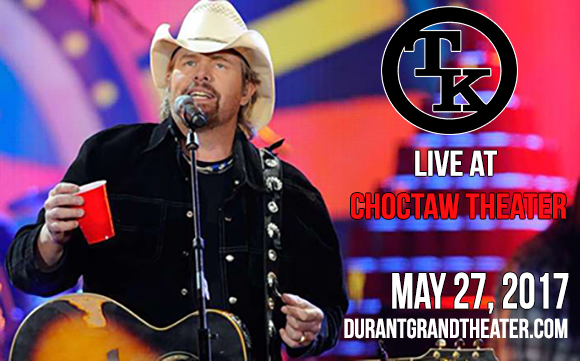 Toby Keith at Choctaw Grand Theater