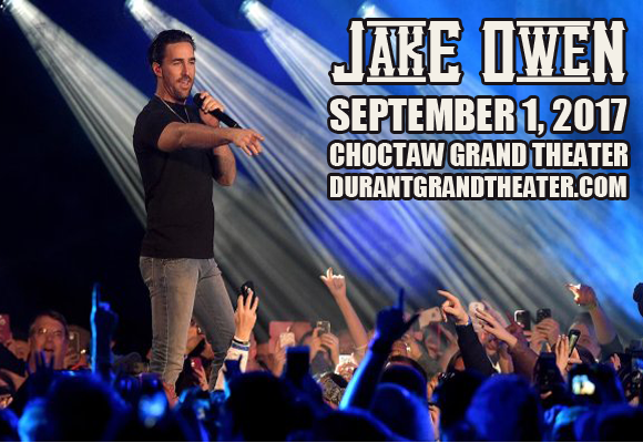 Jake Owen at Choctaw Grand Theater