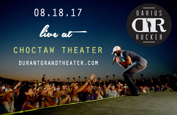 Darius Rucker at Choctaw Grand Theater