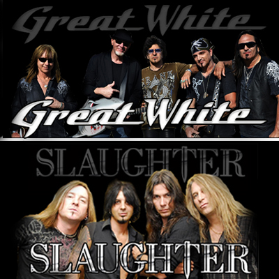 Slaughter & Great White at Choctaw Grand Theater