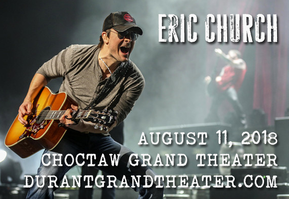 Eric Church at Choctaw Grand Theater