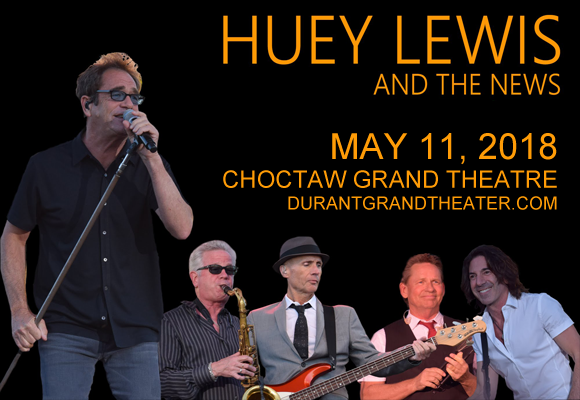 Huey Lewis and The News at Choctaw Grand Theater