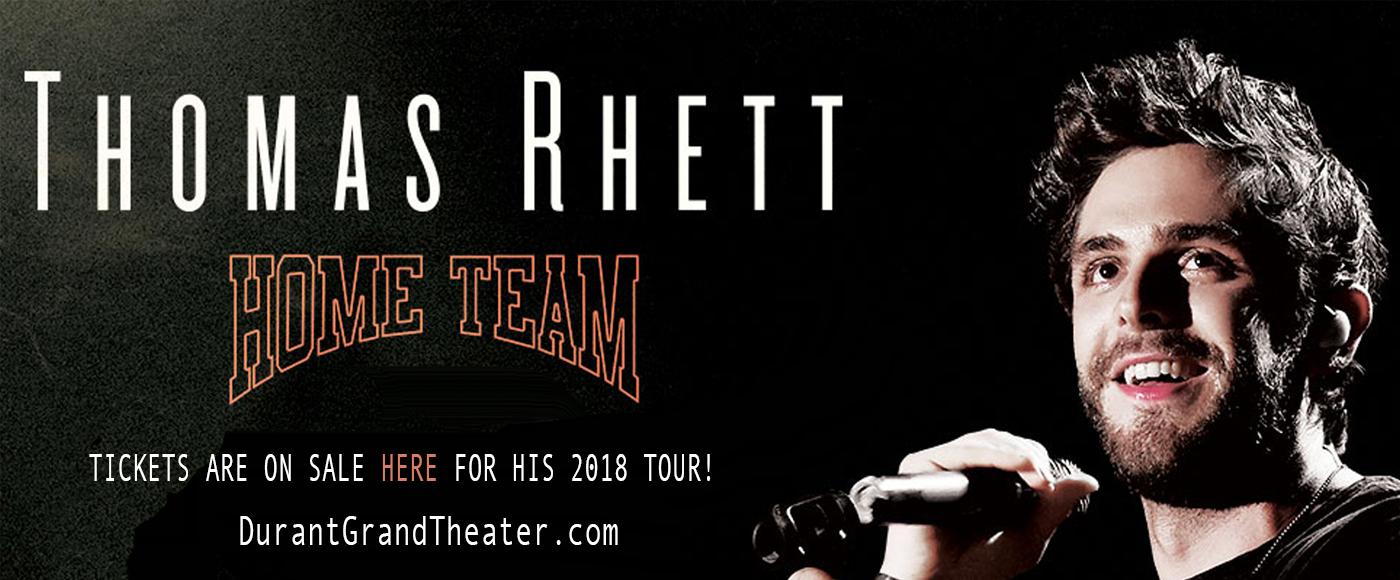 Thomas Rhett at Choctaw Grand Theater