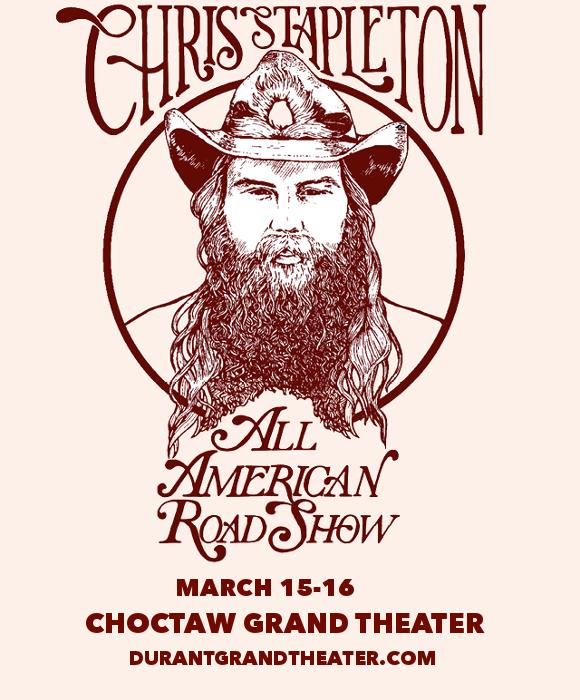 Chris Stapleton at Choctaw Grand Theater
