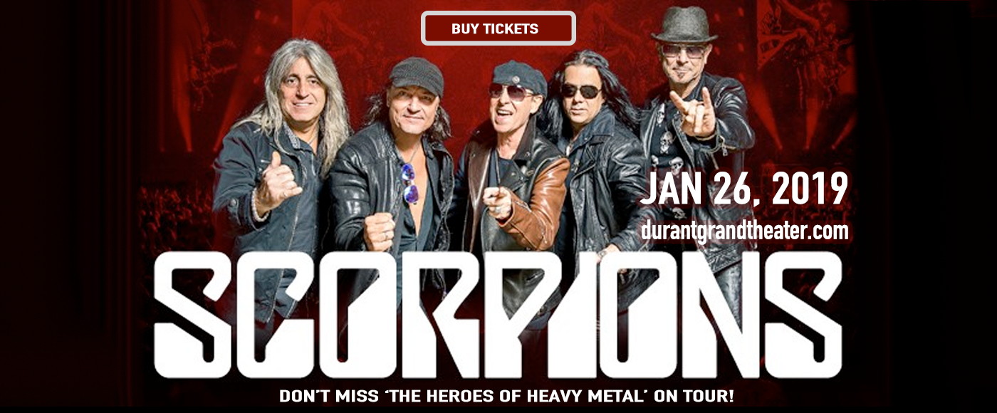 Scorpions at Choctaw Grand Theater