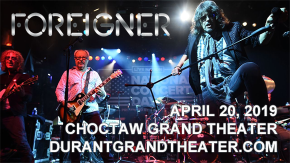 Foreigner at Choctaw Grand Theater