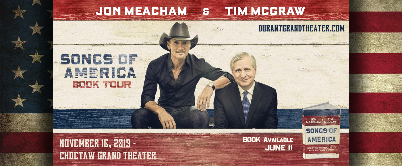 Tim McGraw at Choctaw Grand Theater