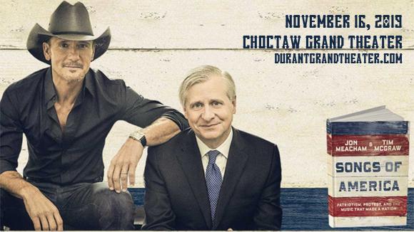 Tim McGraw at Choctaw Grand Theater