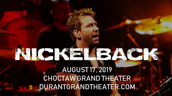Nickelback at Choctaw Grand Theater