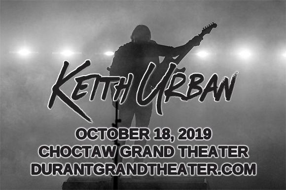 Keith Urban at Choctaw Grand Theater