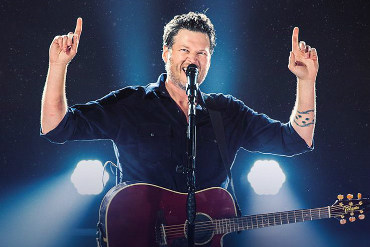 Blake Shelton at Choctaw Grand Theater
