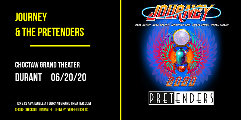 Journey & The Pretenders at Choctaw Grand Theater