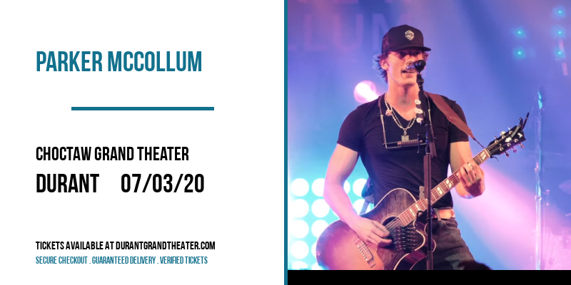 Parker McCollum at Choctaw Grand Theater
