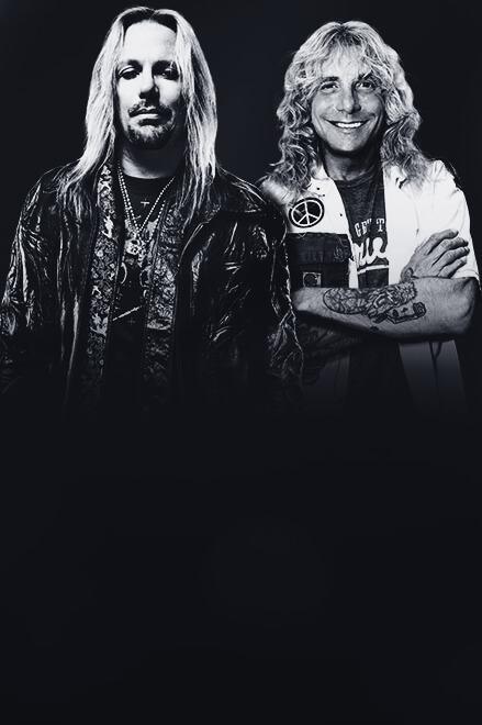 Vince Neil & Steven Adler at Choctaw Grand Theater