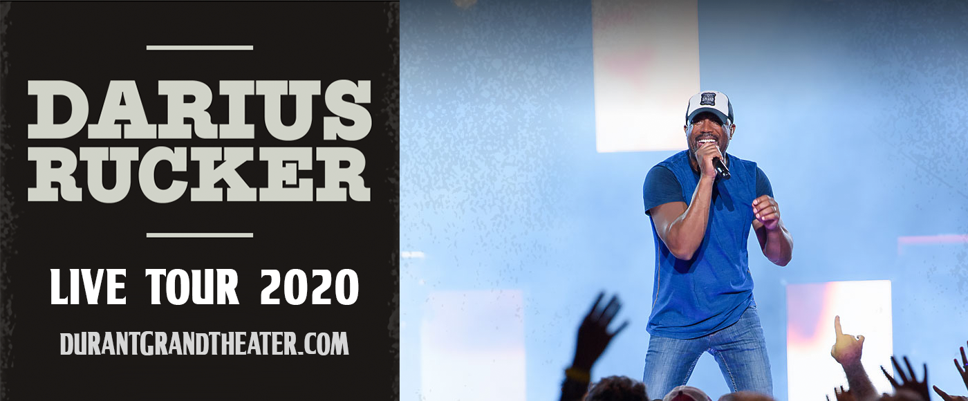 Darius Rucker [CANCELLED] at Choctaw Grand Theater