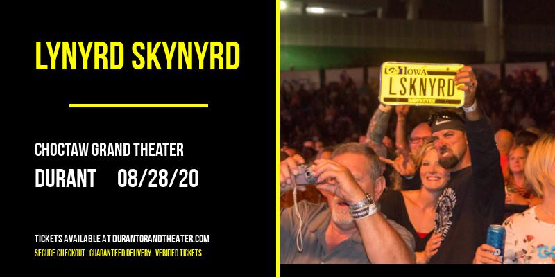 Lynyrd Skynyrd [CANCELLED] at Choctaw Grand Theater