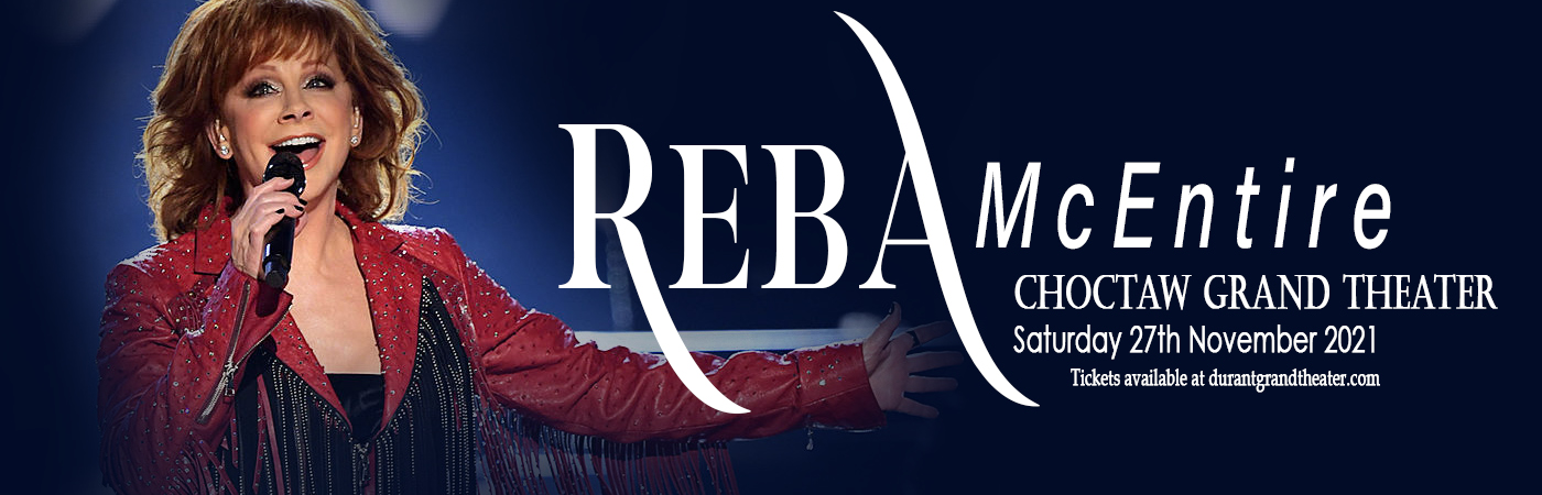 Reba McEntire at Choctaw Grand Theater