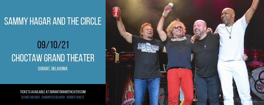 Sammy Hagar and The Circle at Choctaw Grand Theater